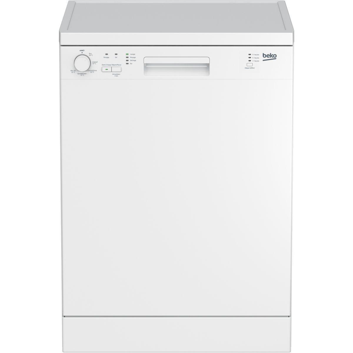 Lave-vaisselle 60cm beko lvp 62w1 - 2% de remise immédiate avec le code : cool2 (photo)