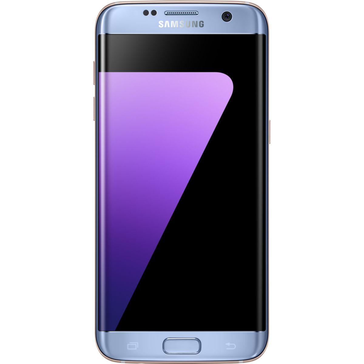 Smartphone samsung galaxy s7 edge bleu 3
