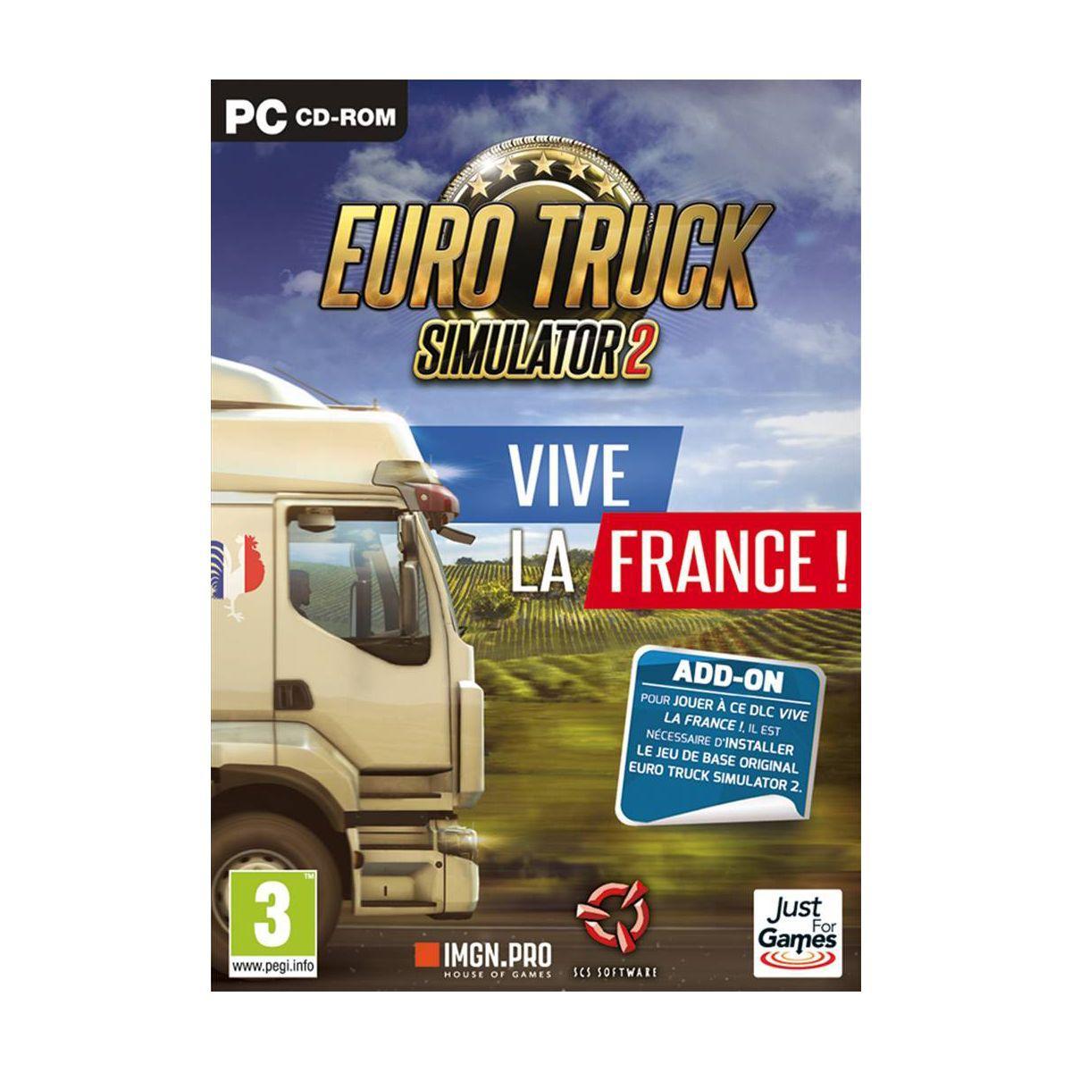 Jeu pc just for games euro truck 2 simul - 3% de remise immédiate avec le code : multi3 (photo)