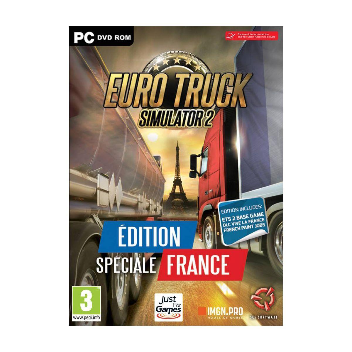 Jeu pc just for games pack euro truck 2 - 3% de remise immédiate avec le code : multi3 (photo)