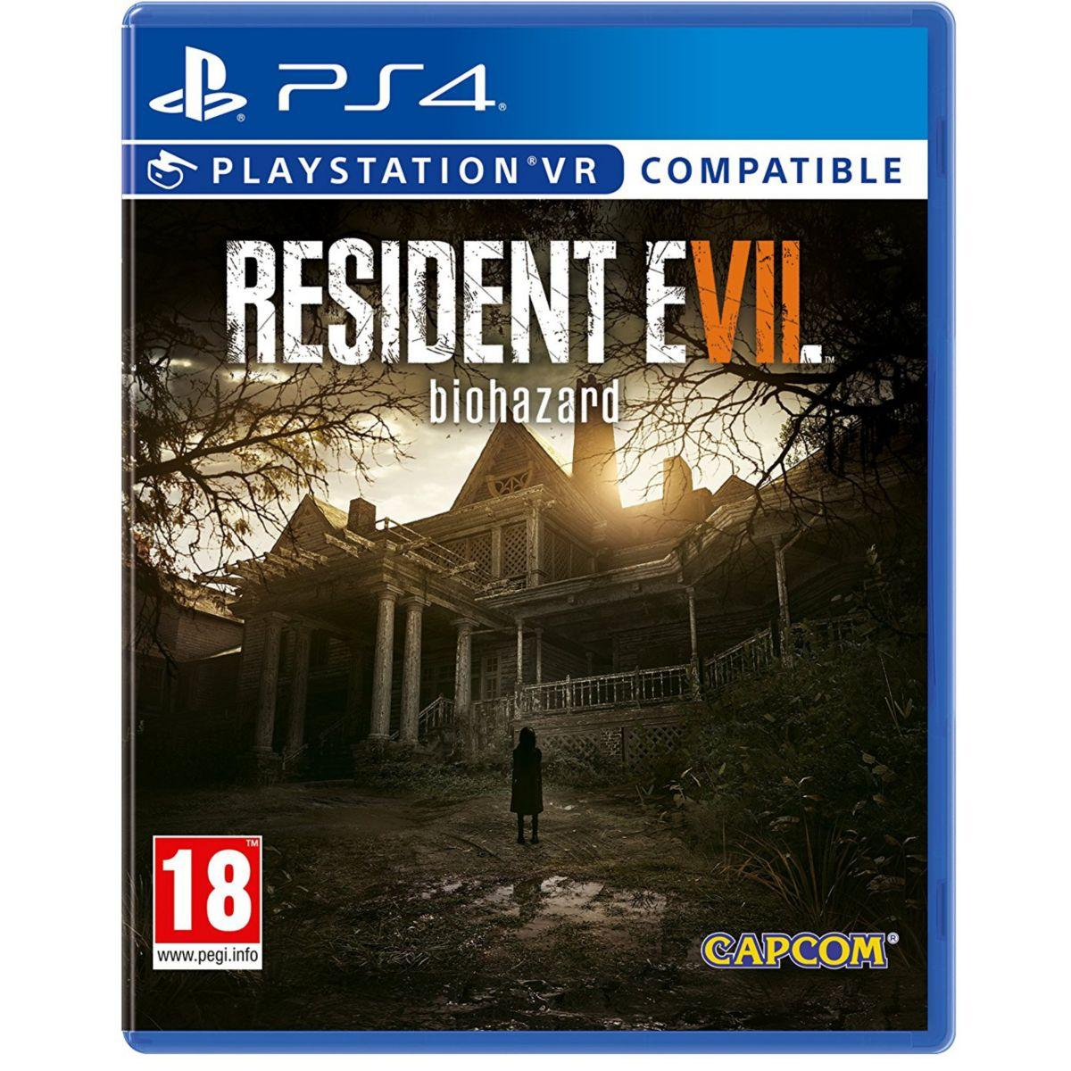 Jeu ps4 capcom resident evil 7 biohazard (photo)