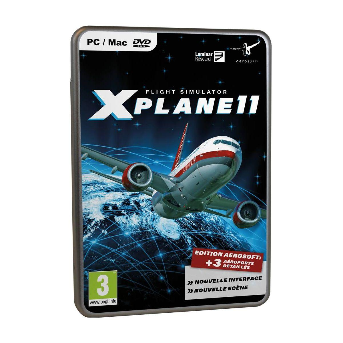 Jeu pc just for games x-plane 11 (photo)