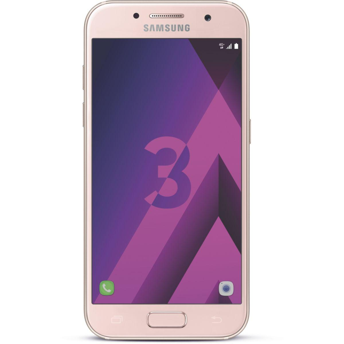 Smartphone samsung galaxy a3 rose ed.2017