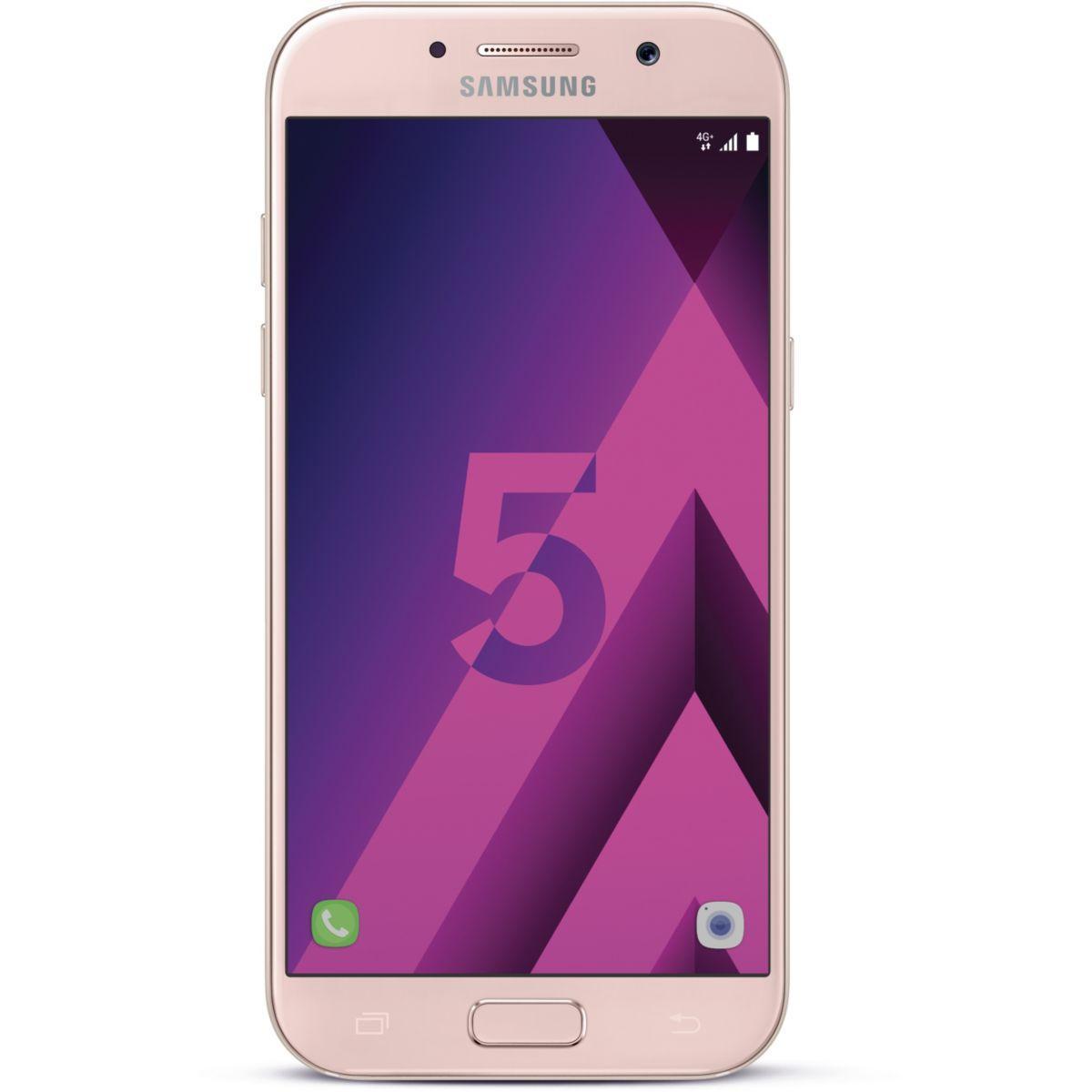 Smartphone samsung galaxy a5 rose ed.2017 - la sélection de l'équipe