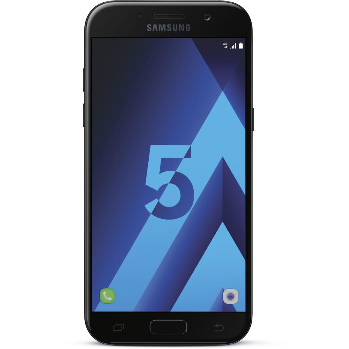 Smartphone samsung galaxy a5 noir ed.2017 - la sélection de l'équipe