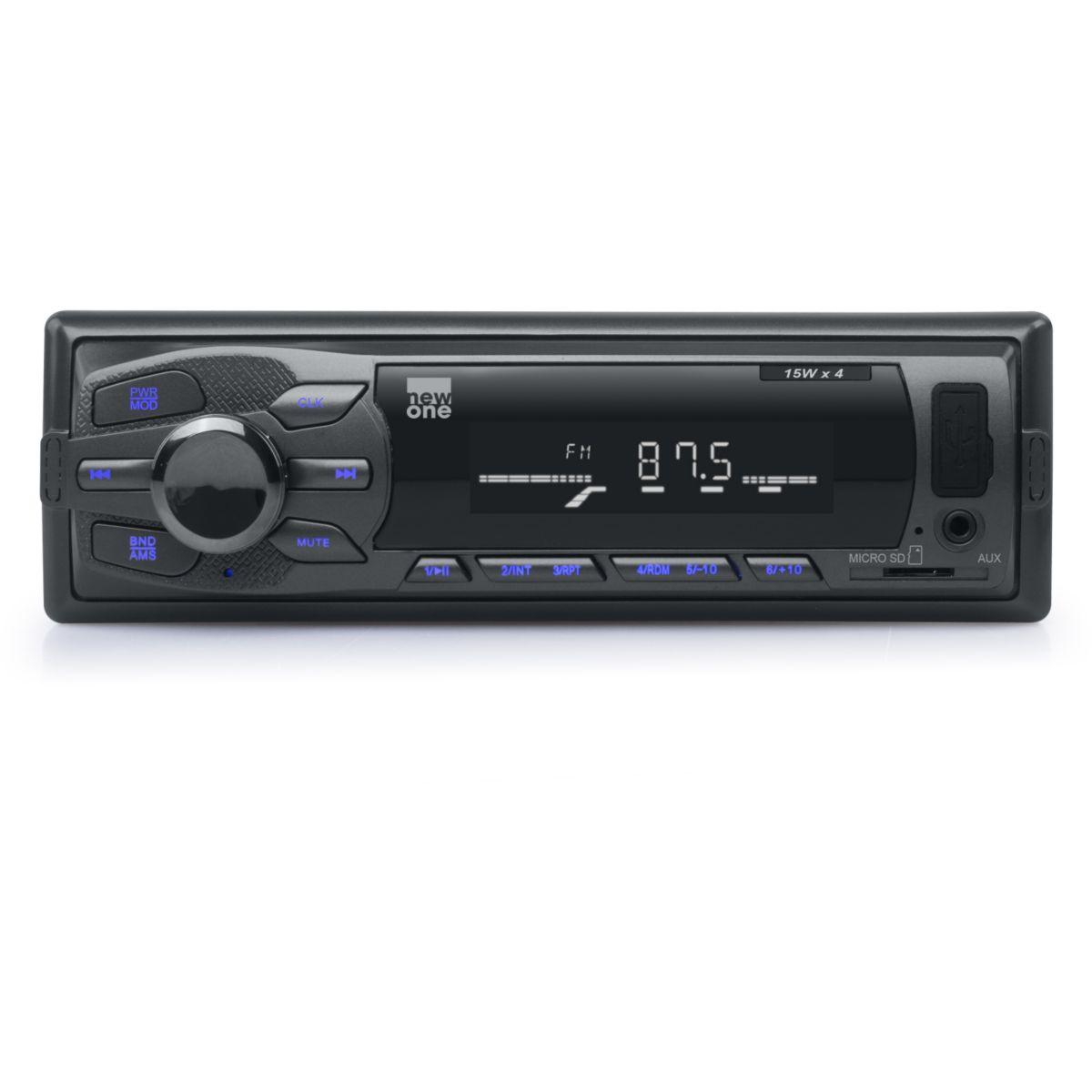 Autoradio mp3 newone ar 260 - 2% de remise imm�diate avec le code : deal2 (photo)