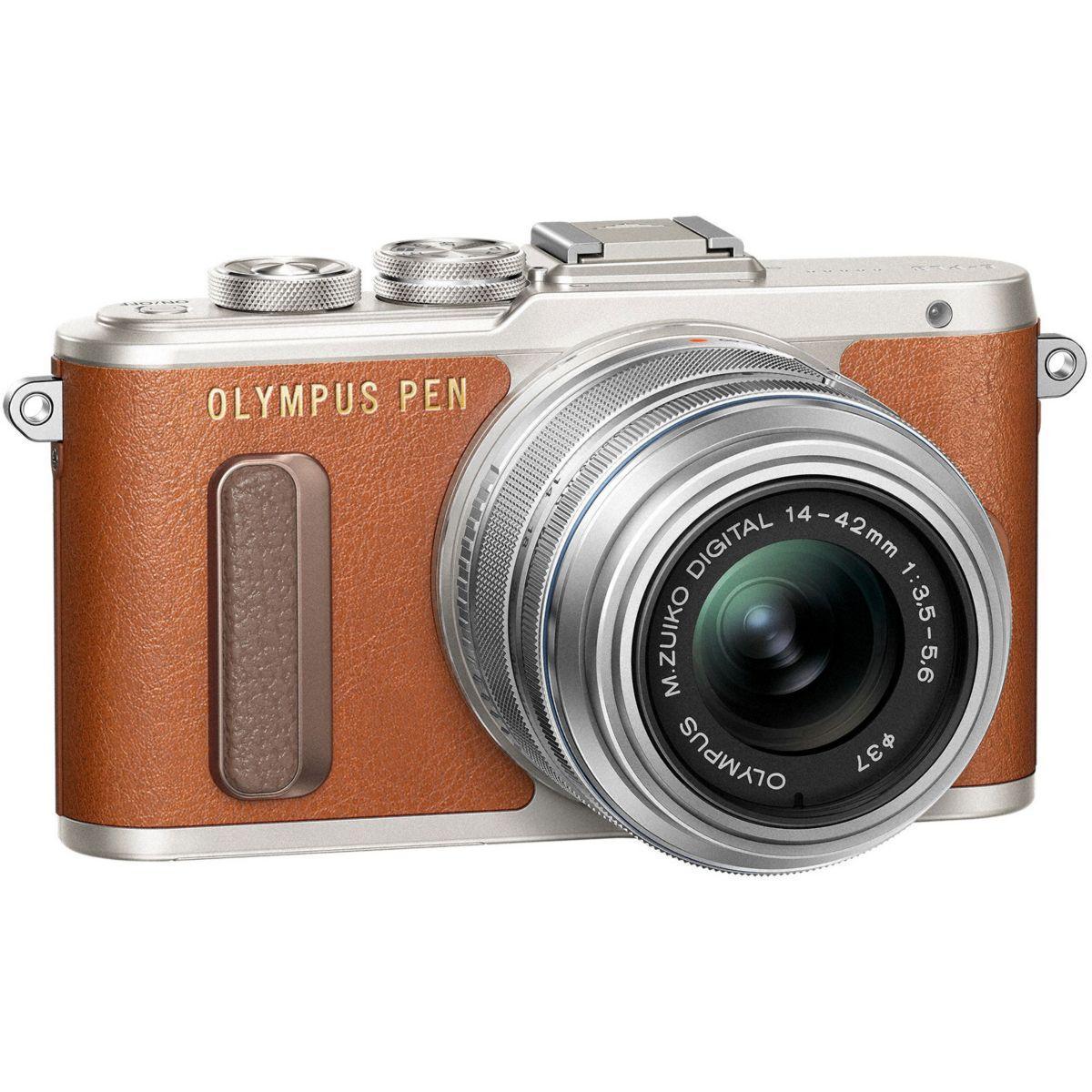 Apn olympus e-pl8 marron + 14-42pz silve - 10% de remise immédiate avec le code : multi10 (photo)