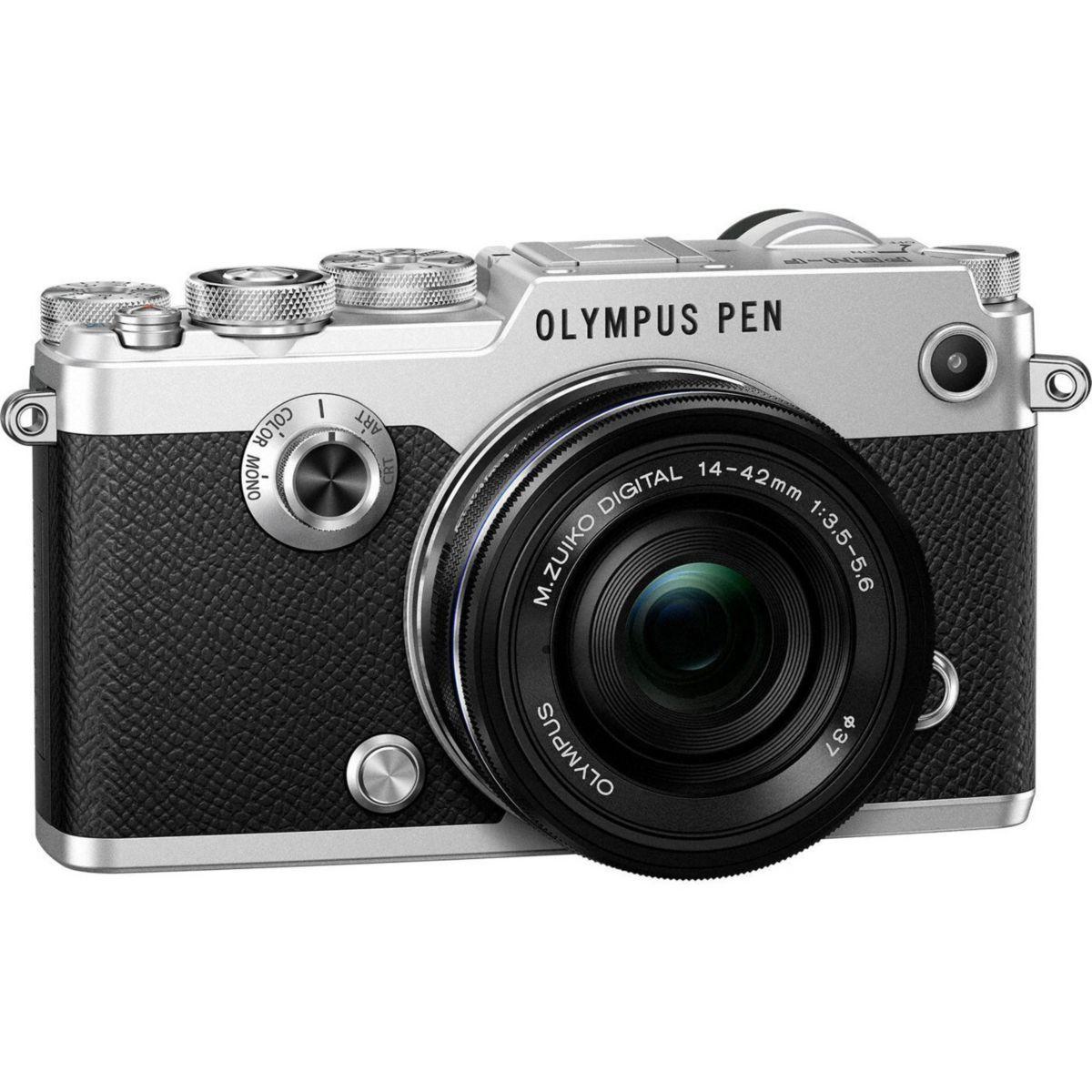 Apn olympus pen-f silver + 14-42pz noir - 10% de remise immédiate avec le code : multi10 (photo)