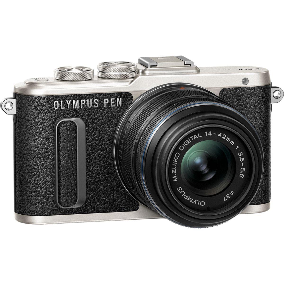 Apn olympus e-pl8 noir + 14-42pz noir - 10% de remise immédiate avec le code : multi10 (photo)