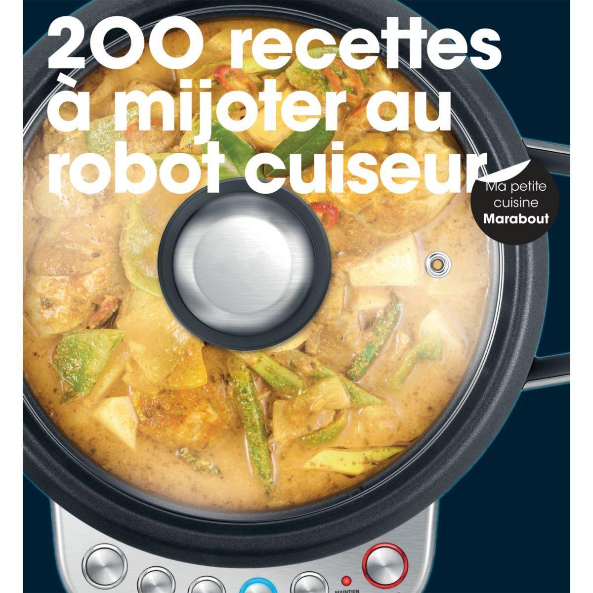 Livre marabout 200 recettes à mijoter au - la sélection webdistrib.com (photo)