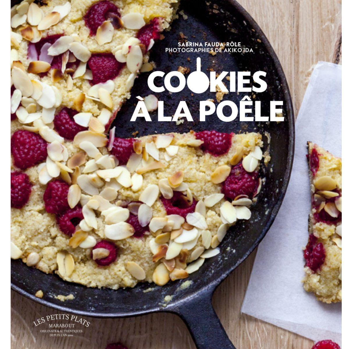 Livre marabout cookies à la poêle - la sélection webdistrib.com (photo)