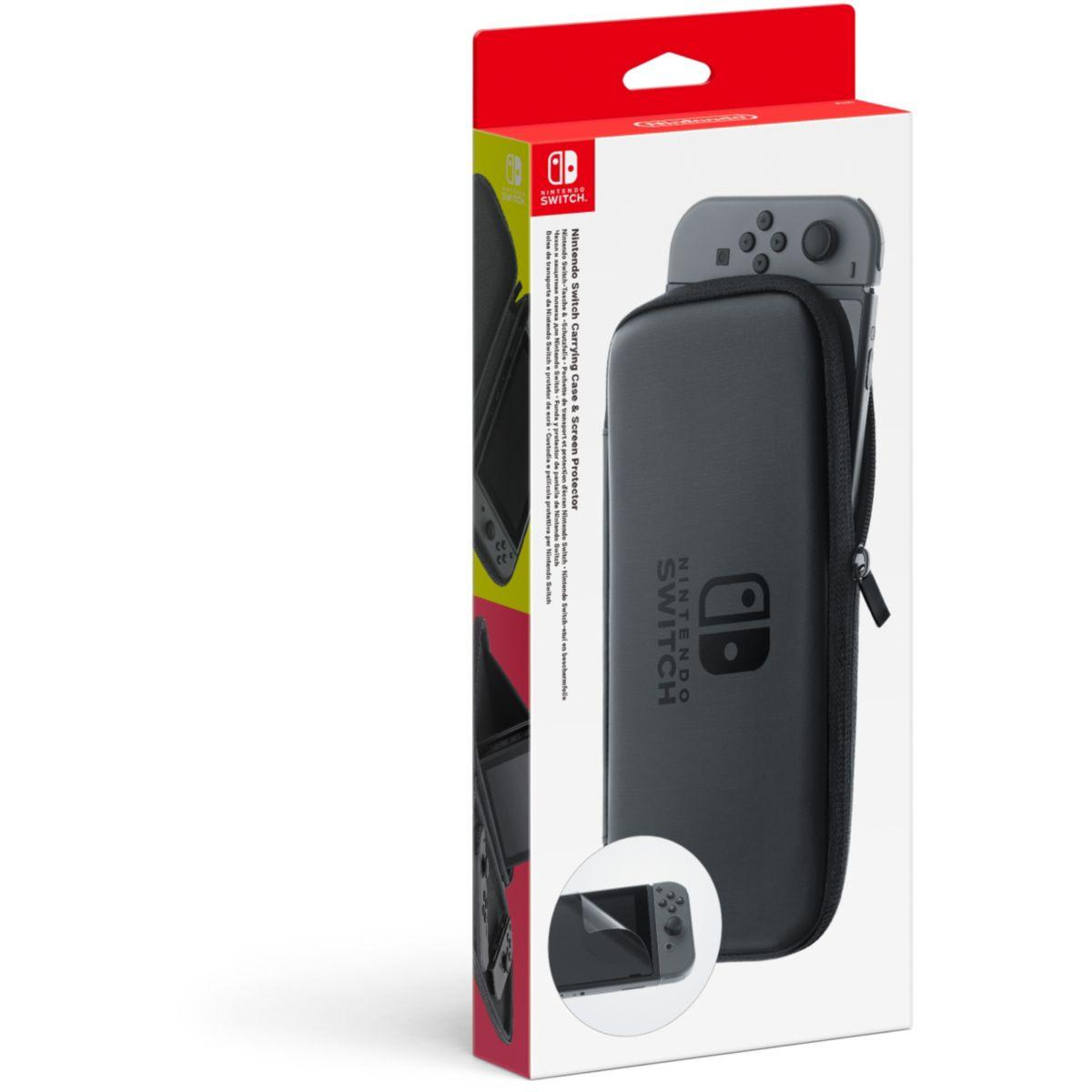 Kit de protection nintendo set transport et protection switch