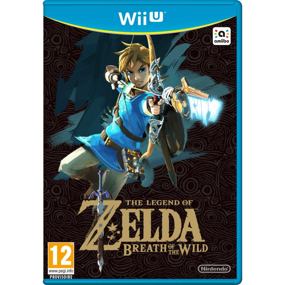 Jeu nintendo wii u the legend of zelda - breath of the wild - 2% de remise immédiate avec le code : cool2 (photo)
