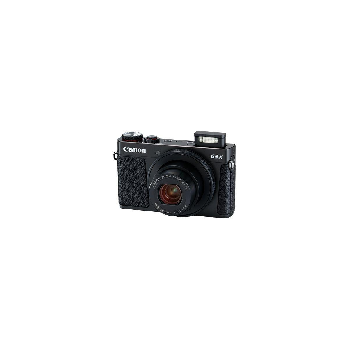 Appareil photo compact canon powershot g9x mark ii noir - 10% de remise imm�diate avec le code : school10 (photo)