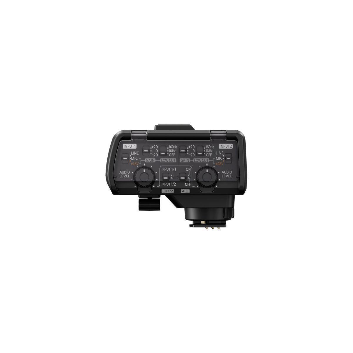 Adaptateur panasonic de microphone xlr pour le lumix gh5