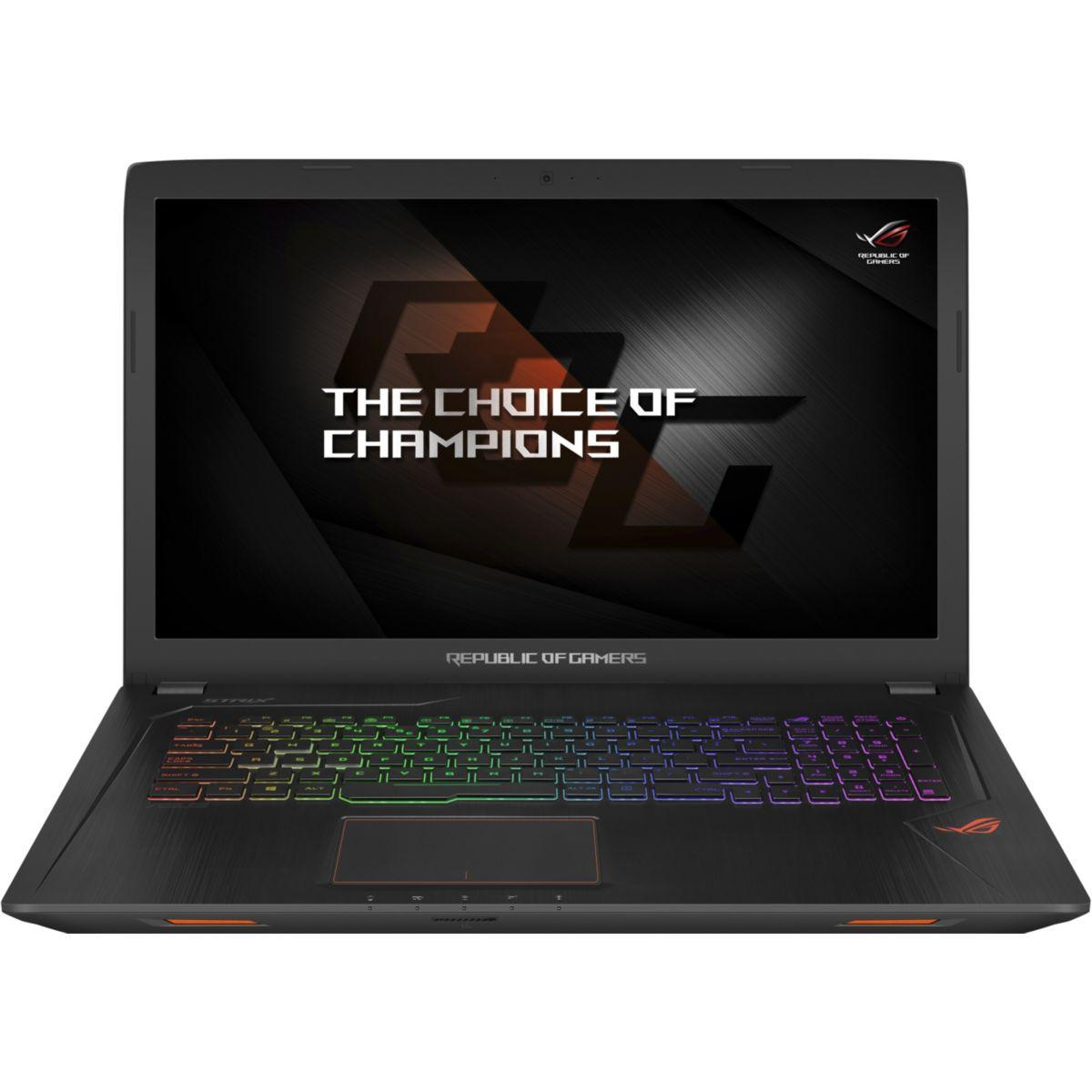 Pc portable gamer asus rog gl753vd-gc097t (photo)