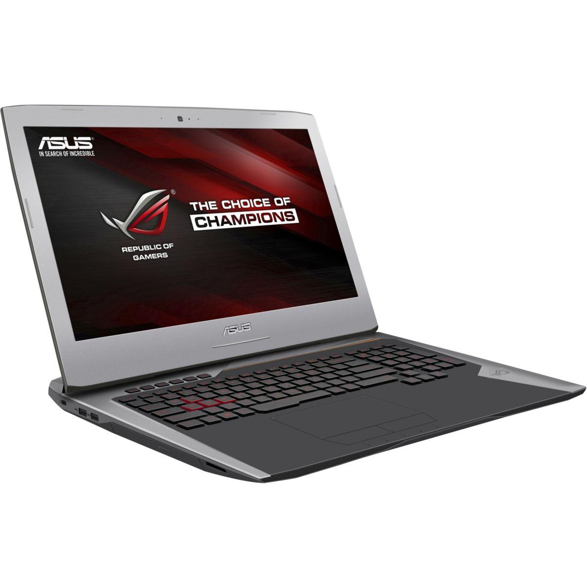 Pc portable gamer asus rog g752vs(kbl)-ba383t (photo)