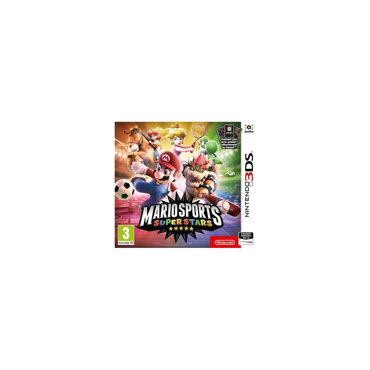 Jeu 3ds nintendo mario sports superstars - 2% de remise immédiate avec le code : cool2 (photo)