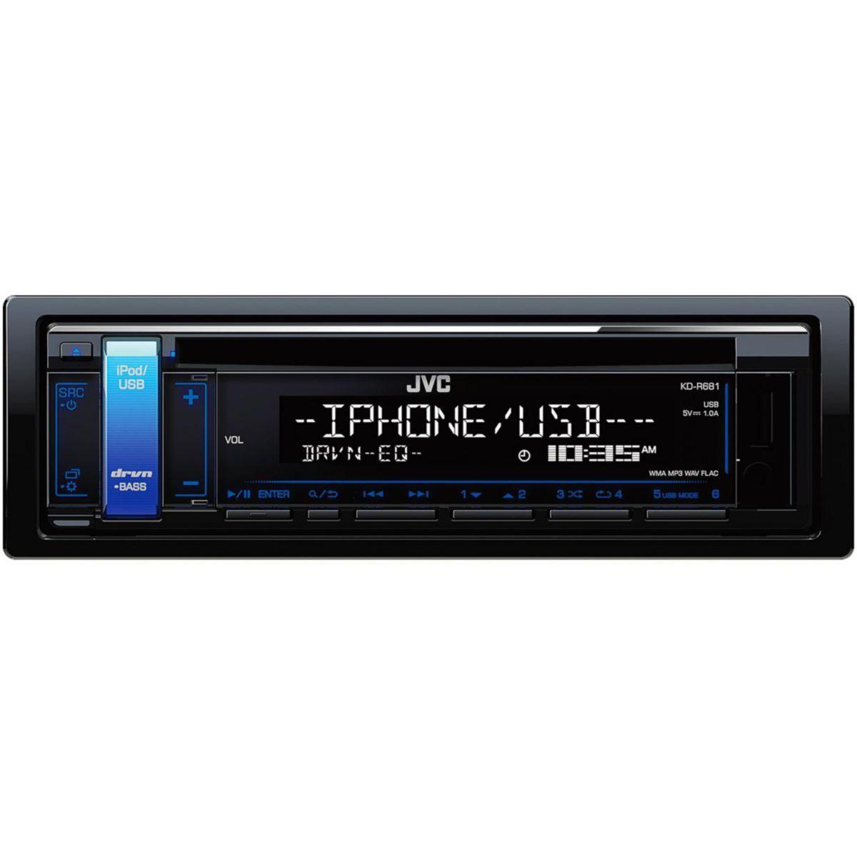 Autoradio cd jvc kd-r681 - 5% de remise imm�diate avec le code : fete5