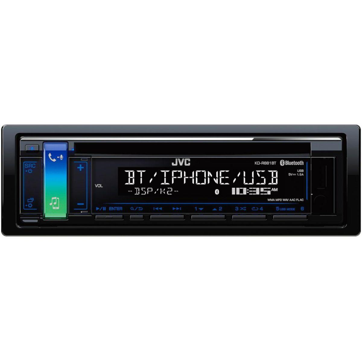 Autoradio cd jvc kd-r881 bt - 2% de remise imm�diate avec le code : green2