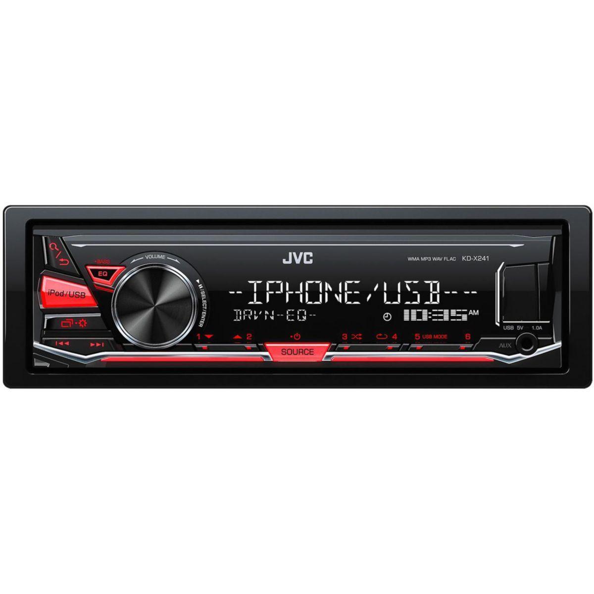 Autoradio mp3 jvc kd-x241 - 2% de remise imm?diate avec le cod...