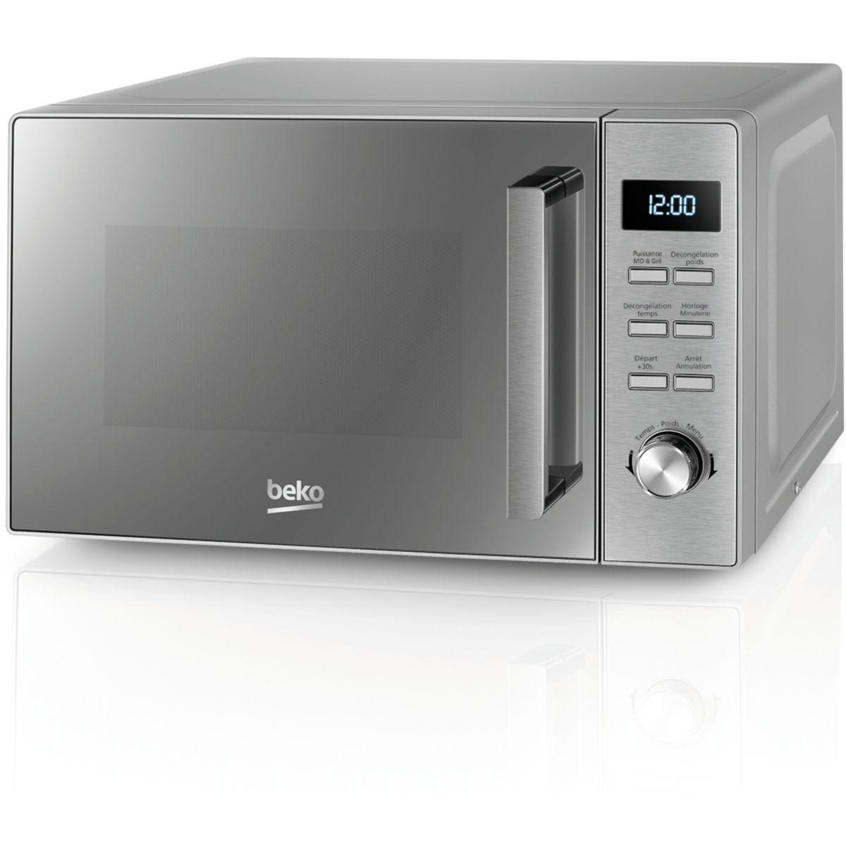 Micro-ondes grill four beko mgf20210x - 2% de remise : code gam2