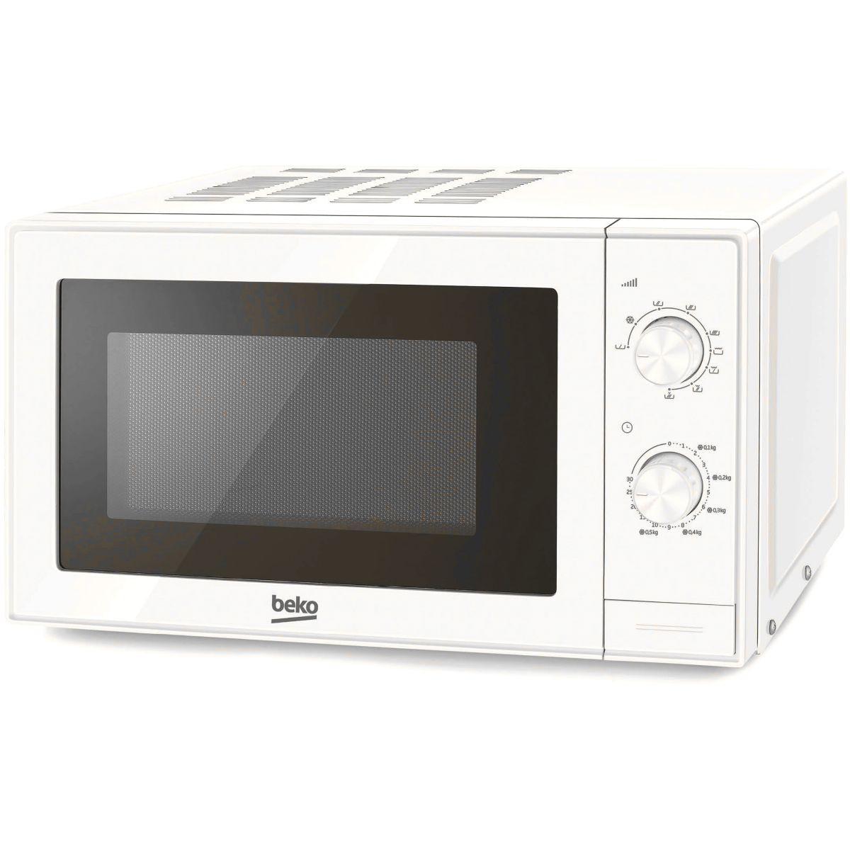 Micro-ondes grill beko mgc20100w - 2% de remise : code gam2