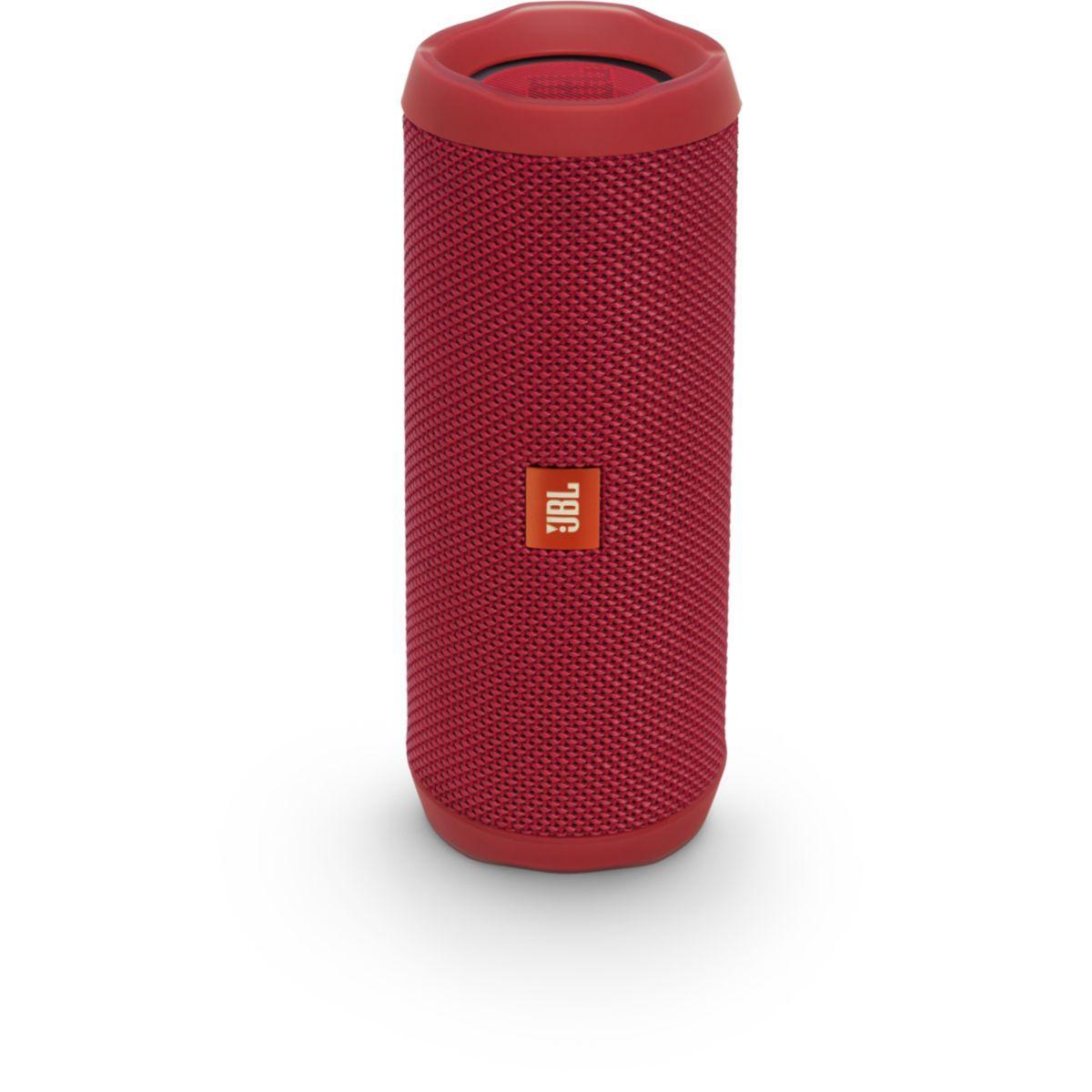 Enceinte bluetooth jbl flip 4 rouge - livraison offerte : code premium (photo)