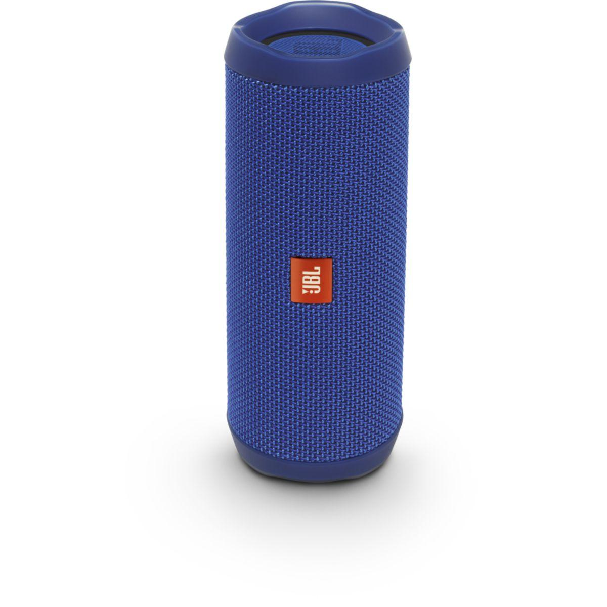 Enceinte bluetooth jbl flip 4 bleu - livraison offerte : code premium (photo)