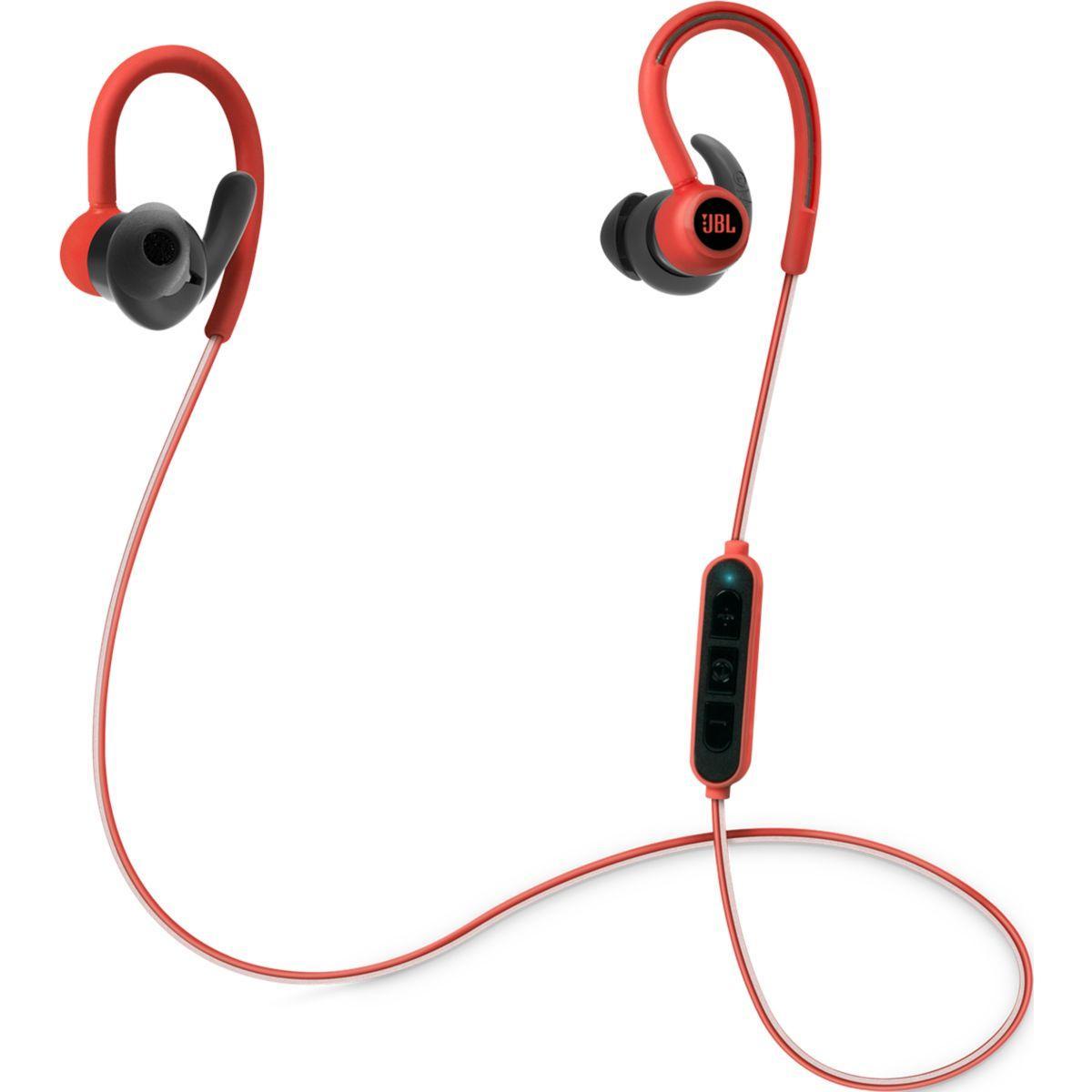 Ecouteur sport jbl reflect contour rouge - livraison offerte : code livprem