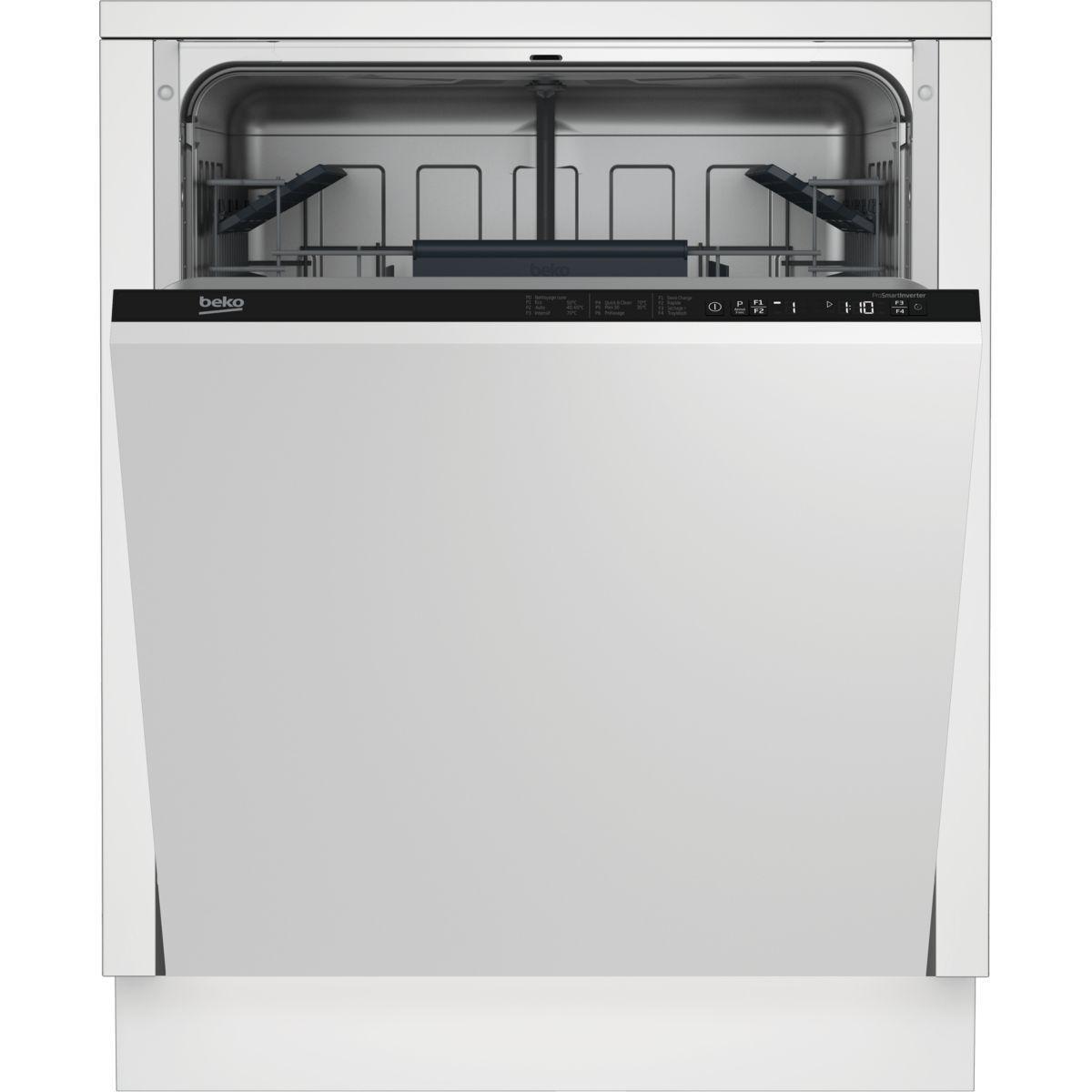 Lave vaisselle tout int�grable beko lvi62f - livraison offerte : code livr