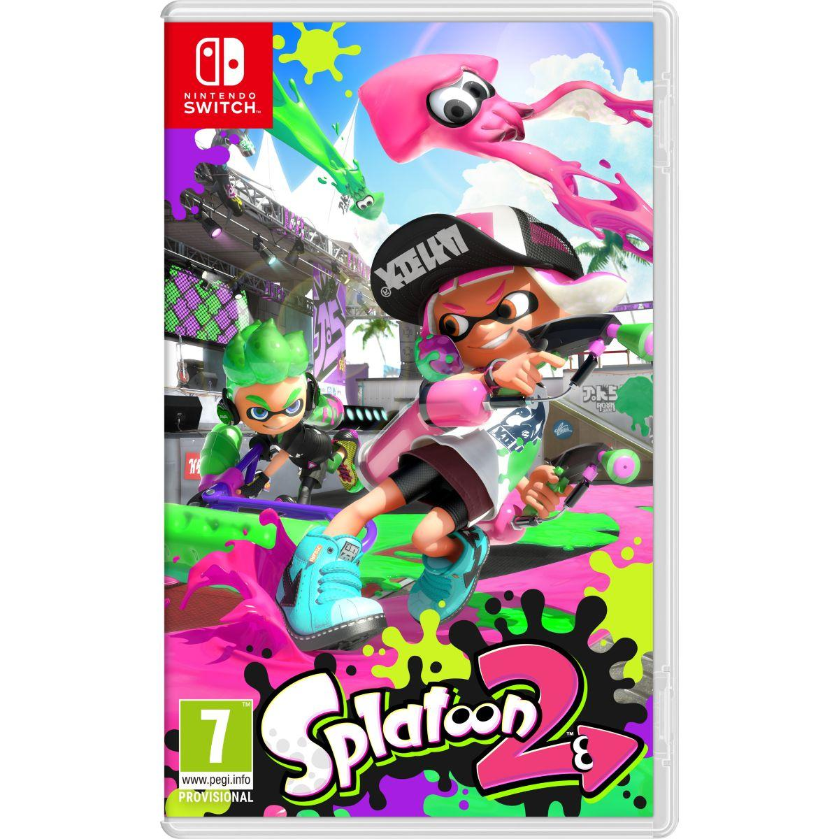 Jeu switch nintendo splatoon 2