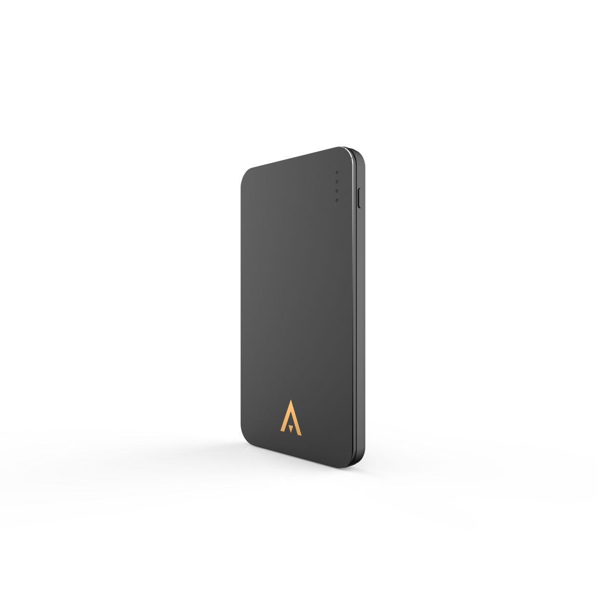 Batterie externe adeqwat 5000 mah noir 1 usb - livraison offerte : code liv (photo)