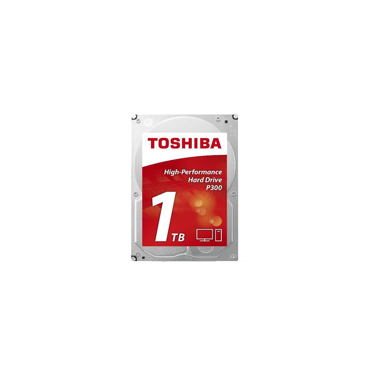 Disque dur interne toshiba 3,5'' 1to p300 - 10% de remise imm�diate avec le code : deal10