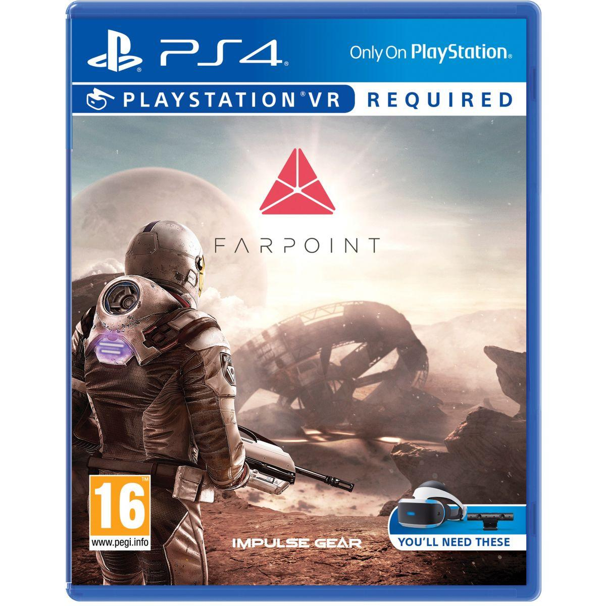 Jeu ps4 sony jeu vr farpoint (photo)