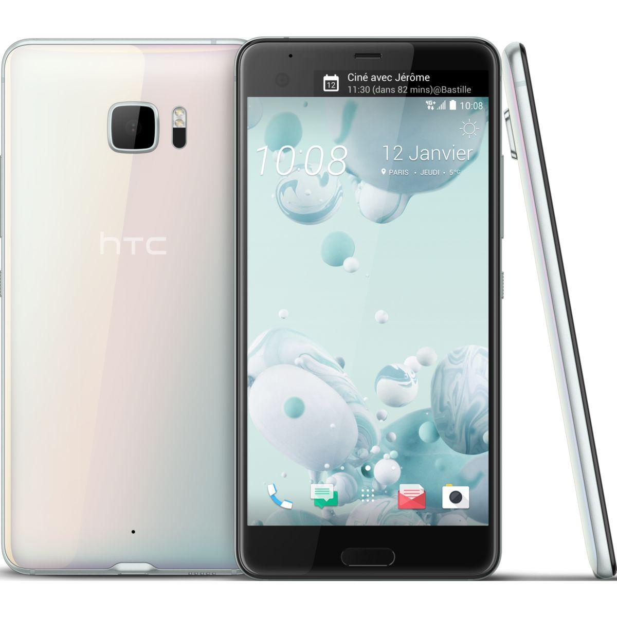 Smartphone htc u ultra blanc