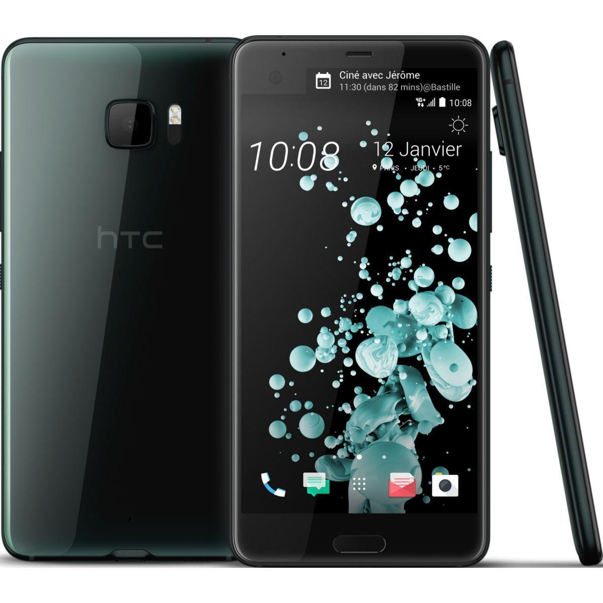 Smartphone htc u ultra noir