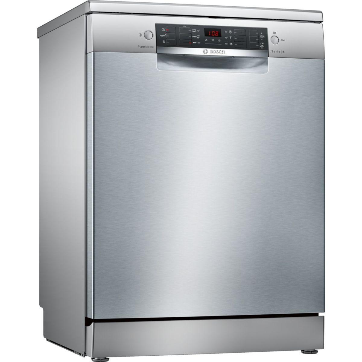 Lave-vaisselle 60cm bosch sms46ii03e - 2% de remise immédiate avec le code : cool2 (photo)