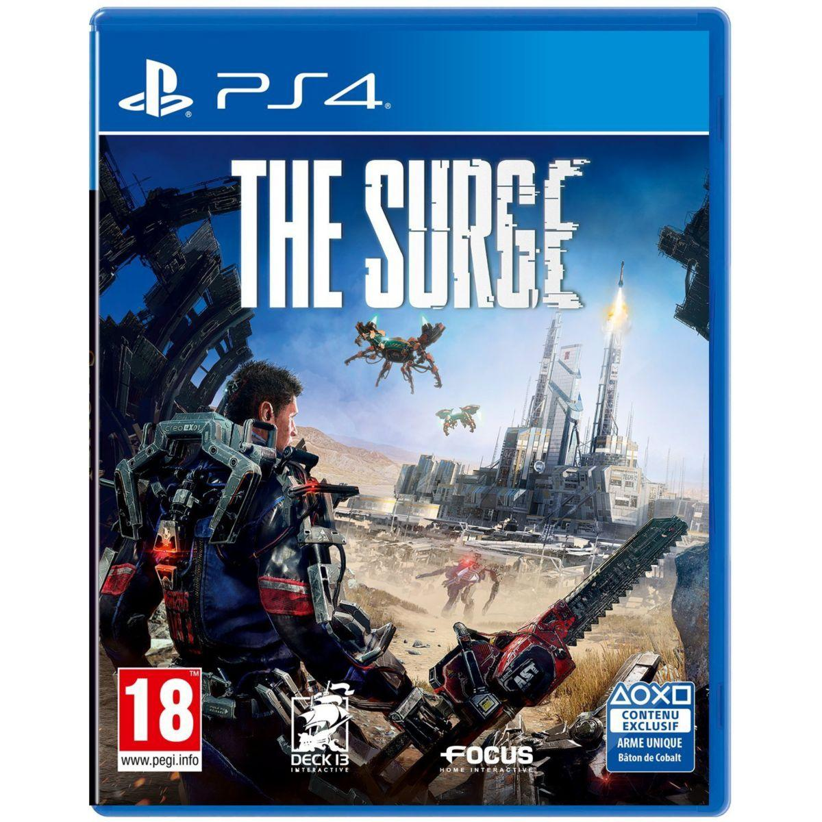 Jeu ps4 focus the surge (photo)