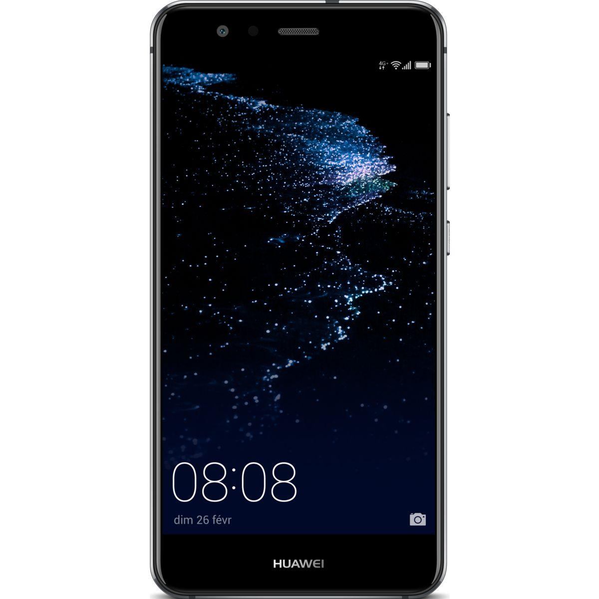 Smartphone huawei p10 lite noir - 2% de remise imm?diate avec le code : noel2