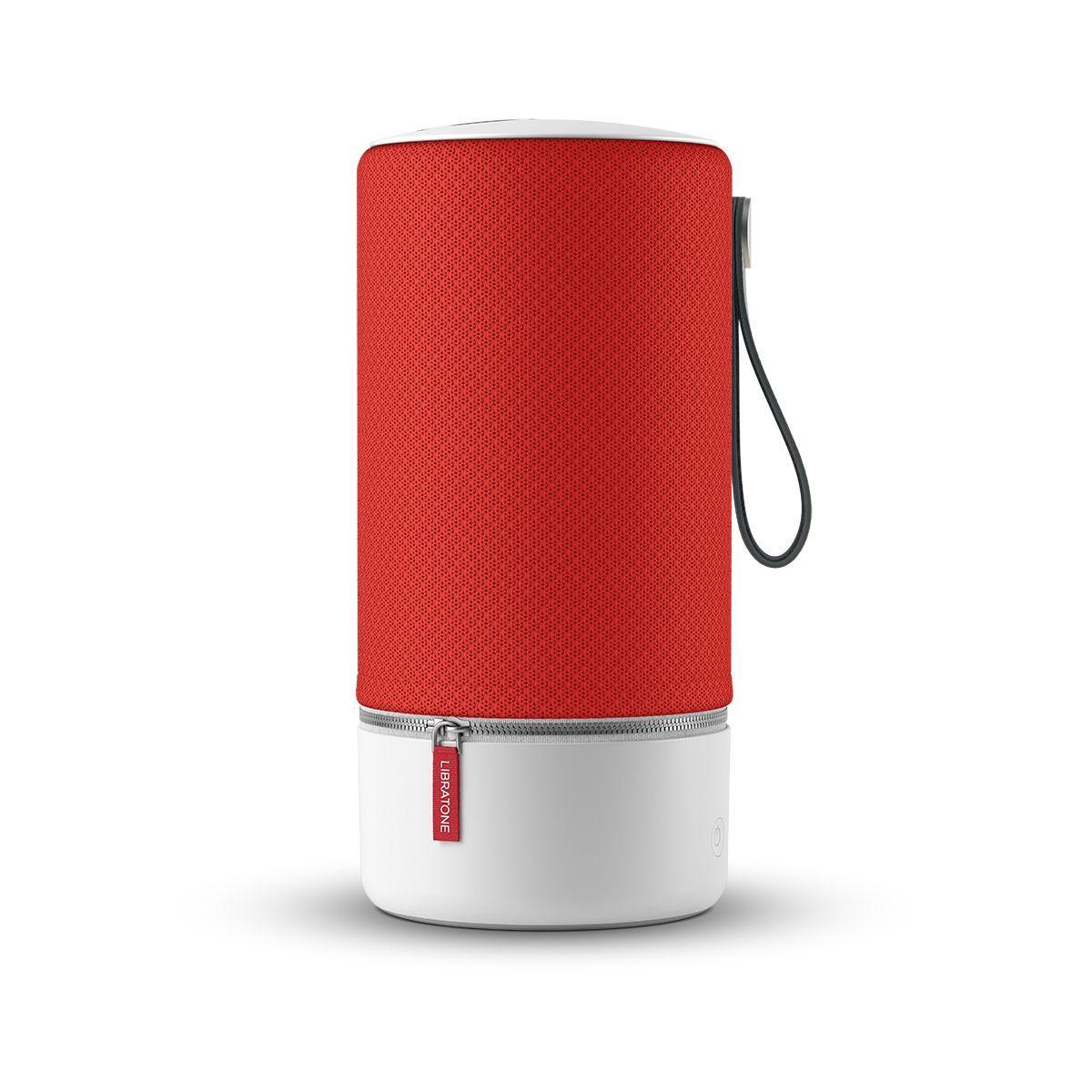 Enceinte bluetooth libratone zipp rouge - livraison offerte : code livprem
