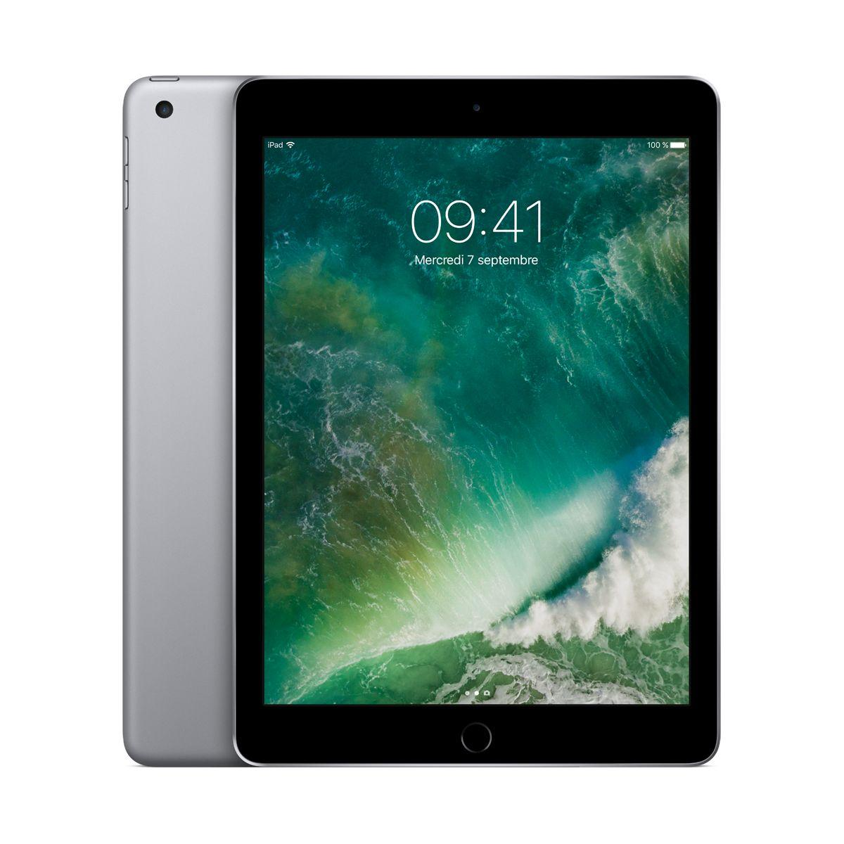 Tablette ipad new ipad 128go gris sid. (photo)