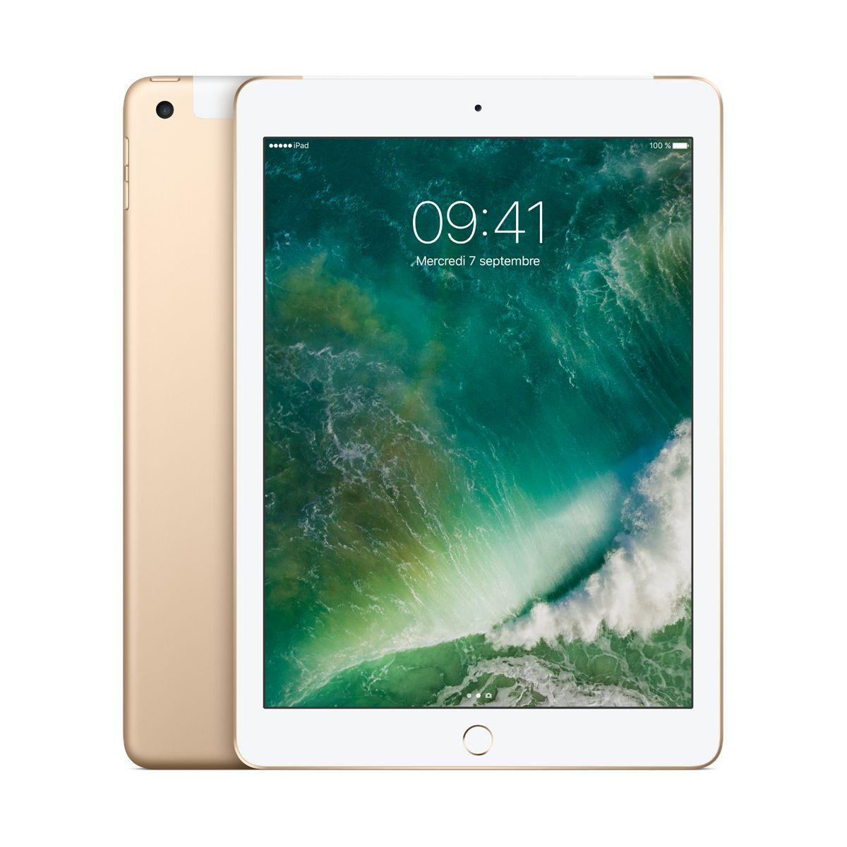 Tablette ipad new ipad 128go cel. or - livraison offerte : code livrelais (photo)