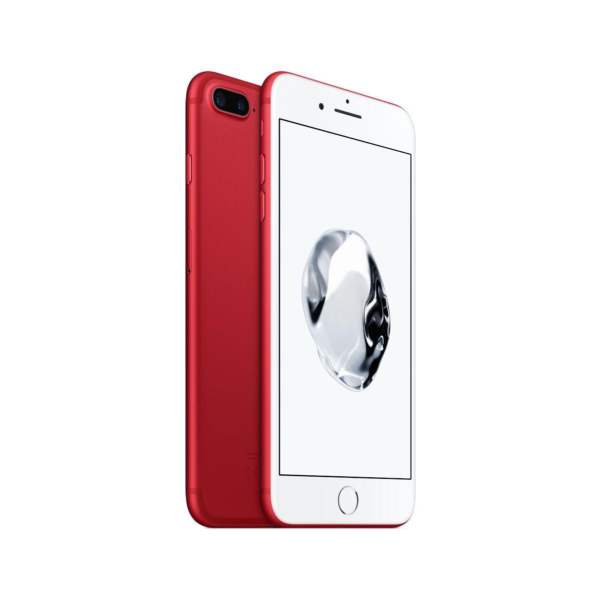 Apple iphone 7 plus 256go rouge - livraison offerte : code livrelais (photo)