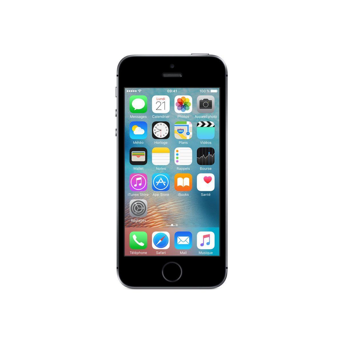 Smartphone apple iphone se 32go gris sid�ral