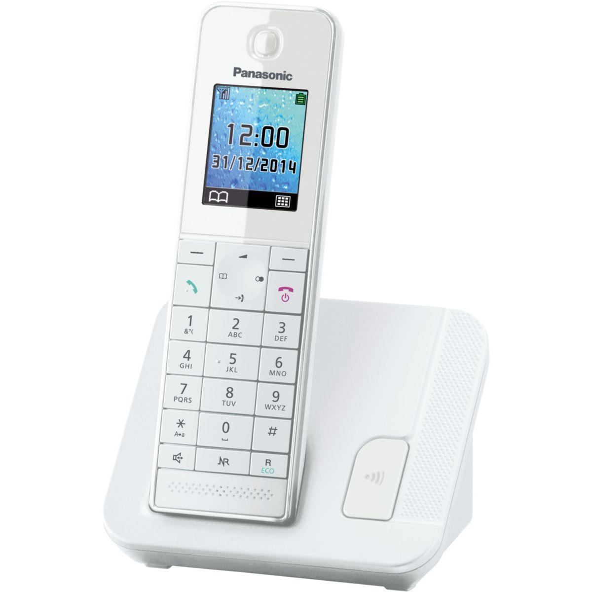 Téléphone panasonic kx-tgh210 - 3% de remise immédiate avec le code : multi3 (photo)