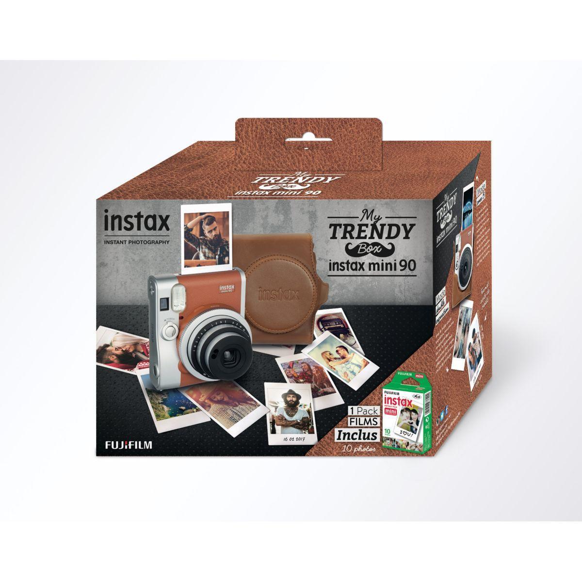 Appareil photo numérique fuji instax mini 90 « pack trendy > - 7% de remise immédiate avec le code : multi7