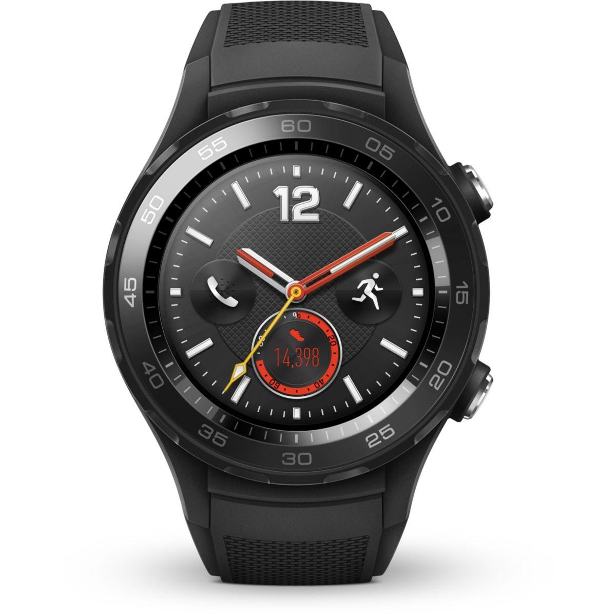 Montre huawei watch 2 sport noir - 7% de remise immédiate avec le code : top7 (photo)