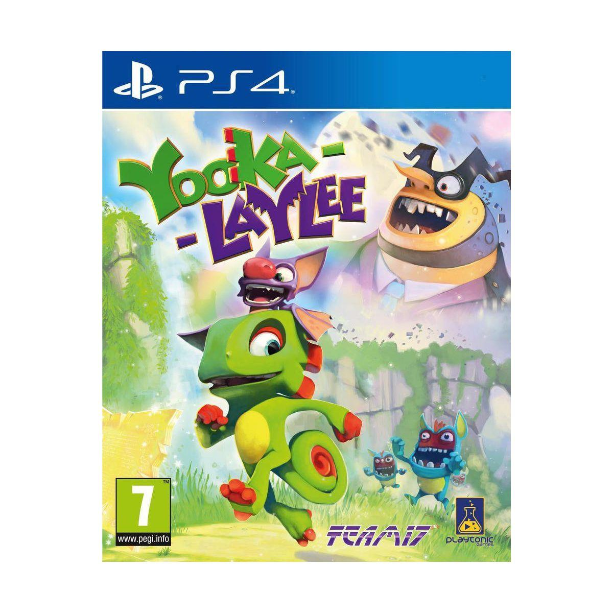 Jeu ps4 just for games yooka-laylee - 2% de remise immédiate avec le code : cool2 (photo)