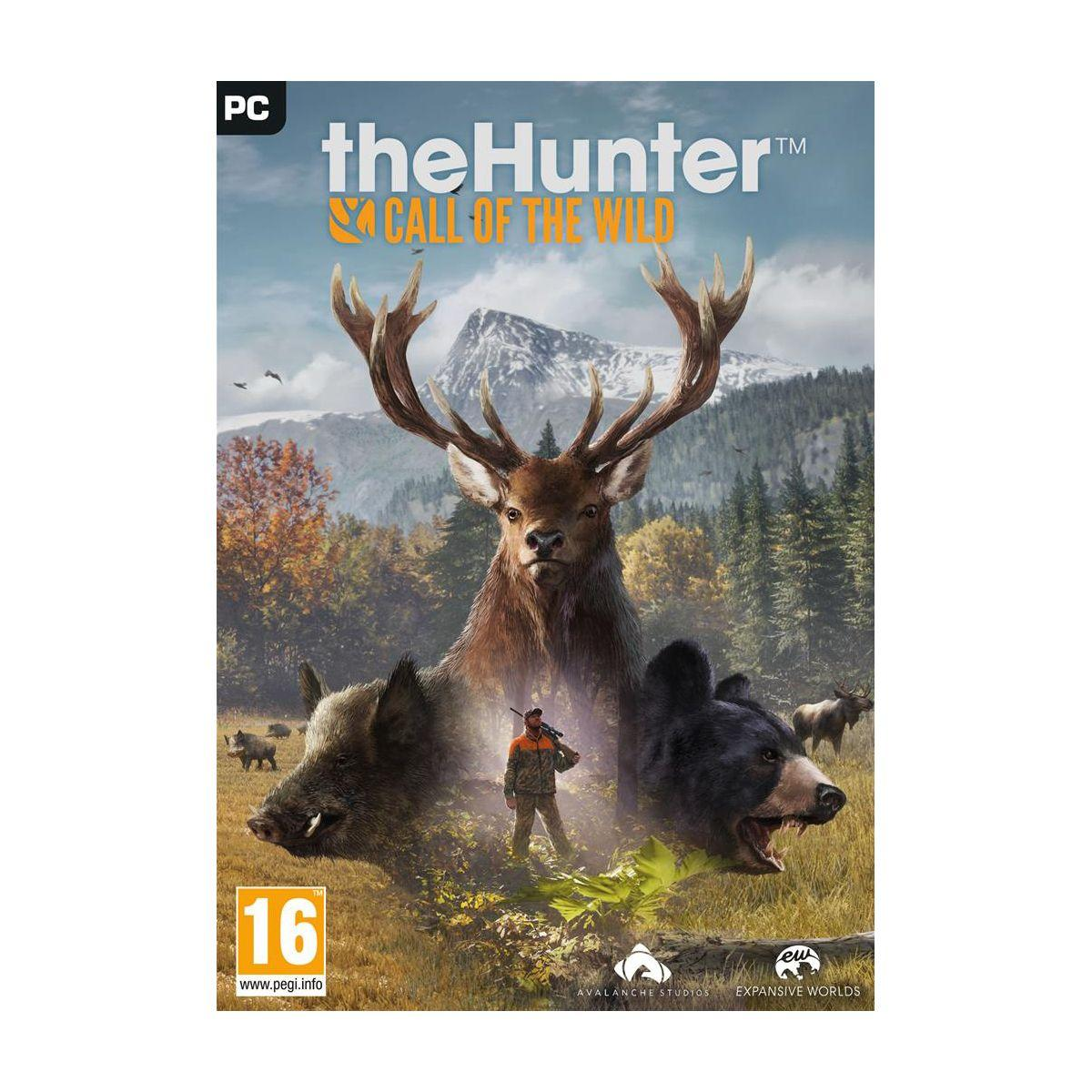 Jeu pc just for games the hunter call of - soldes et bons plans (photo)